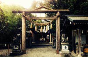 Tsubaki Shrine entrance